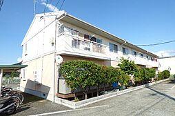 長野県長野市川中島町今井の賃貸アパートの外観