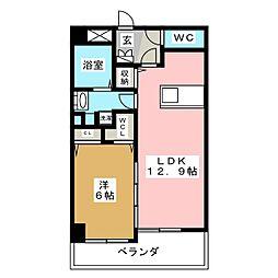 さくら館[4階]の間取り