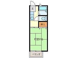 POST NISHIMURA[1階]の間取り