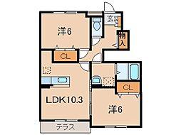 JR紀勢本線 紀伊内原駅 徒歩10分の賃貸アパート