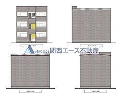 シティレジデンス鶴橋[2階]の外観