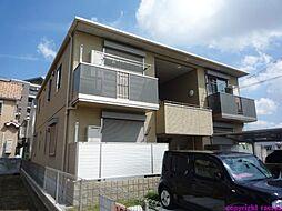 兵庫県伊丹市野間4丁目の賃貸アパートの外観