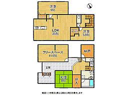 信貴山下駅 2,549万円