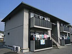 徳島県鳴門市瀬戸町明神字上本城の賃貸アパートの外観