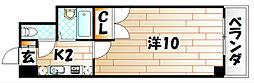 アリビオ八幡[9階]の間取り