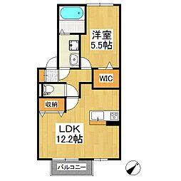 レクサリー[1階]の間取り