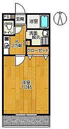 SERAI七番館[106号室]の間取り