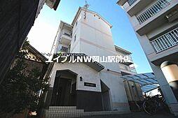 岡山県岡山市北区矢坂東町の賃貸マンションの外観