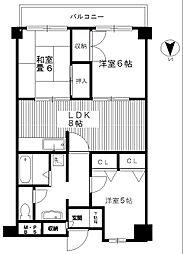トーカド宮崎台[S23 号室]の間取り