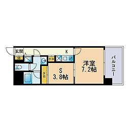 Jigyo HIKARI terrace 5階1SKの間取り