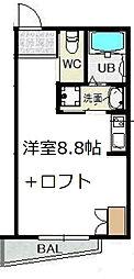 RIHITO新大阪WEST[5階]の間取り