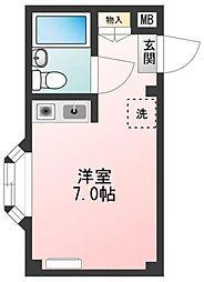 東京都北区志茂1丁目の賃貸マンションの間取り