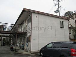 乾ハイツB棟[2階]の外観