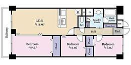 LDKは、続き間を開放すれば22畳超のゆとり空間へ大変身。使いやすいカウンターキッチン、広々とした浴室・洗面、たっぷりの収納、ペットと暮らせる生活等、ほしい物がギュッと詰まっています。