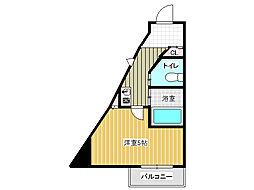 兵庫県神戸市西区伊川谷町有瀬の賃貸マンションの間取り
