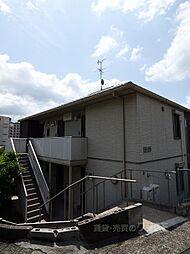 大阪府河内長野市上田町の賃貸アパートの外観