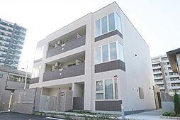 神奈川県茅ヶ崎市菱沼2丁目の賃貸マンションの外観