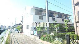 愛知県長久手市仲田の賃貸アパートの外観