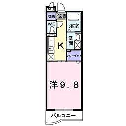 ODANNA 創・3[0106号室]の間取り