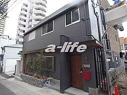 兵庫県神戸市中央区中山手通3丁目の賃貸アパートの外観