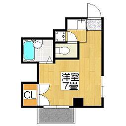 ハウス50[3-D号室]の間取り