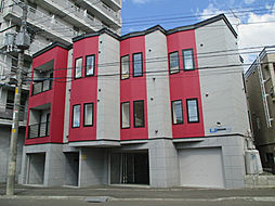 北海道札幌市東区北十四条東13丁目の賃貸アパートの外観