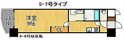 ロイヤルノースナイン[17階]の間取り