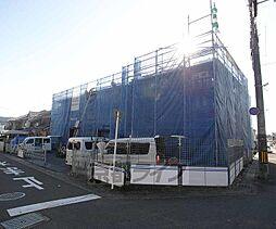 京都府京都市北区西賀茂坊ノ後町の賃貸アパートの外観