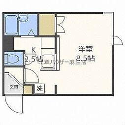 藤井ビル麻生[3階]の間取り
