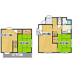 [一戸建] 東京都杉並区上高井戸2丁目 の賃貸【/】の間取り