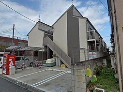 埼玉県越谷市蒲生寿町の賃貸アパートの外観