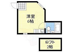 杉本町駅 2.2万円