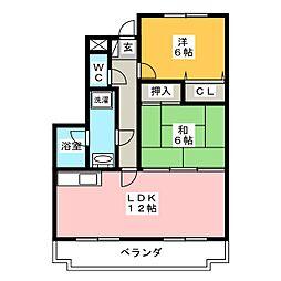 LINX[2階]の間取り