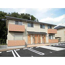 茨城県土浦市乙戸の賃貸アパートの外観