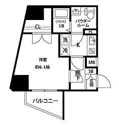 プレール・ドゥーク西巣鴨[8階]の間取り