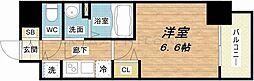 セオリー大阪城サウスゲート[8階]の間取り