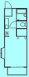 サザンカB棟[2階]の間取り