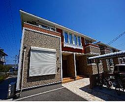 福岡県遠賀郡遠賀町大字今古賀の賃貸アパートの外観