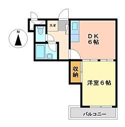 大須寿ビル[5階]の間取り
