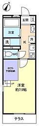 千葉県船橋市習志野台7の賃貸マンションの間取り