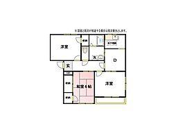 中野ハイツIB棟[2階]の間取り