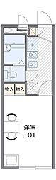 兵庫県神戸市北区藤原台北町1丁目の賃貸アパートの間取り