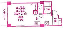 三ツ井ビルディング[2階]の間取り