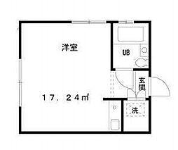 東京都中央区月島3丁目の賃貸マンションの間取り