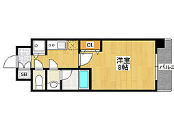 アドバンス大阪城ラディア[3階]の間取り
