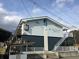 長野県飯田市大瀬木の賃貸アパートの外観