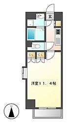 クピットガーデン千代田[9階]の間取り