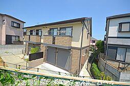 大阪府枚方市招提中町2丁目の賃貸アパートの外観