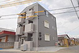 埼玉県春日部市南中曽根の賃貸アパートの外観