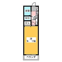 ミュートスNH[1階]の間取り